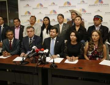 QUITO, Ecuador.- César Litardo anunció que la próxima semana enviarán solicitud a la Corte Constitucional. Foto: API
