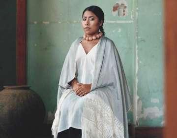 """Con esta foto, la actriz formará parte de la exposición """"Vogue Like a Paiting"""" que recorrerá el mundo. Foto: Vogue México"""