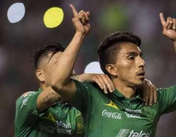 El delantero ecuatoriano vuelve a marcar en México. Foto: Archivo/AFP