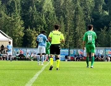 Amistoso de la Lazio en este miércoles. Foto: Twitter Lazio.