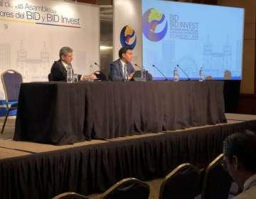 Parrado reveló que se redujo la proyección de crecimiento 2019 para Latinoamérica. Foto: Ministerio de Economía
