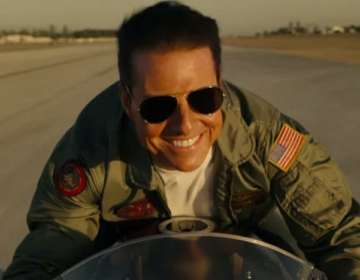 "El actor regresa en el papel de Pete ""Maverick"" Mitchell. Foto: Captura del video"