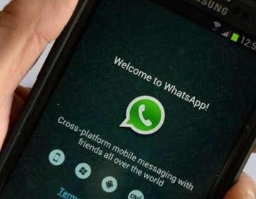 La opción de whatsapp para ver con quién compartes más datos. Foto: AFP