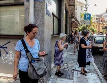 Un sismo de magnitud 5,1 sacude a Atenas en Grecia. Foto: AFP