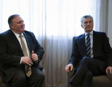 Secretario de Estado participó en Argentina en conferencia contra el terrorismo. Foto: AFP