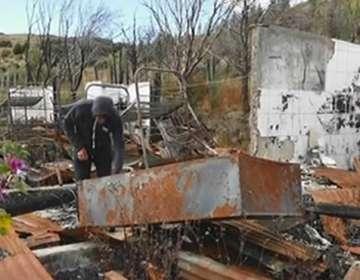 7 comunidades de Molleturo denuncian estar parcialmente aislados.Foto: Captura de video