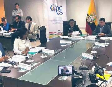QUITO, Ecuador.- Las partes sustentarán sus argumentos la próxima semana, según cronograma de Fiscalización. Foto: Twitter