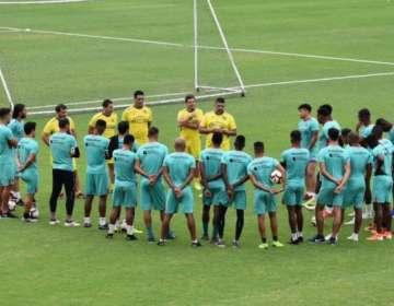 El entrenador de Barcelona aseguró que el jugador necesita una preparación aparte. Foto: Tomada de @BarcelonaSC