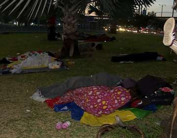 GUAYAQUIL, Ecuador.- Algunos de los extranjeros señalan que llevan meses en esta situación.