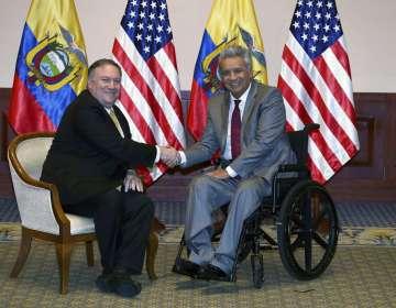 Luego de Ecuador, Pompeo visitará México y El Salvador. Foto: AP