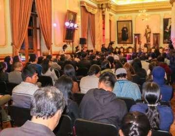Más adelante Otavalo dará detalles de un programa especial para celebrar sus fiestas. Foto: GAD Otavalo