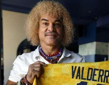 Carlos Valderrama, exjugador colombiano. FOTO: AFP
