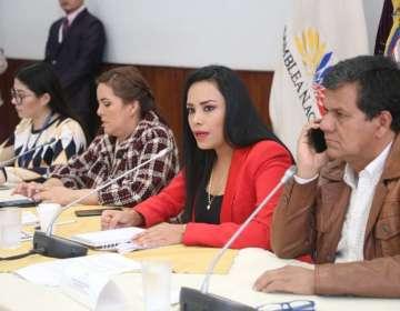 QUITO, Ecuador.- Jeannine Cruz dijo que este Consejo ha cometido desacato. Foto: Asamblea Nacional