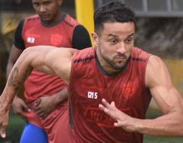 Gabriel Marques, entrenando con BSC.