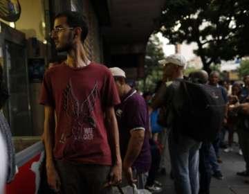 VENEZUELA.- Se trata del cuarto apagón en los últimos 4 meses. Foto: AP