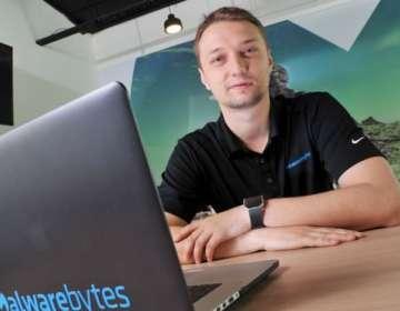Marcin comenzó a trabajar en el desarrollo de antivirus cuando tenía 14 años.
