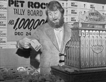 "Gary Dahl logró vender cinco millones de rocas como ""mascotas"" en 1975."