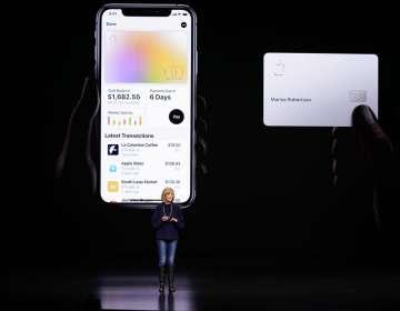 Llega la tarjeta de crédito de Apple. Foto: AP