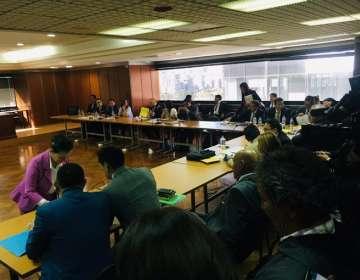 El pedido para la audiencia de vinculación lo hizo la fiscal Salazar a la jueza Camacho. Foto: @JacquelineRodas