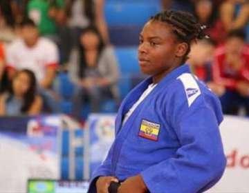 Vanessa Chalá judoca.