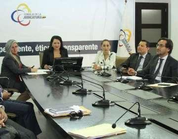 ECUADOR.- Los dictámenes que se tomarán en cuenta para el sorteo corresponden al periodo 2014-2018. Foto: Consejo de Judicatura