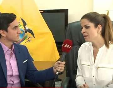 La Secretaria del Deporte habló sobre la participación de Ecuador en los Panamericanos. Foto: Captura de pantalla