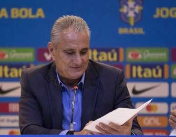 Tite, entrenador de Brasil.