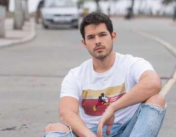 """Andrés Vilchez quiere dejar su """"semilla actoral"""" en Latinoamérica. Foto: IG"""