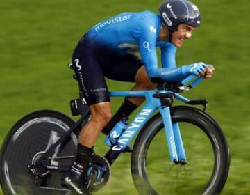 Richard Carapaz, ciclista ecuatoriano.