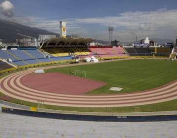 Estadio Olímpico Atahualpa.