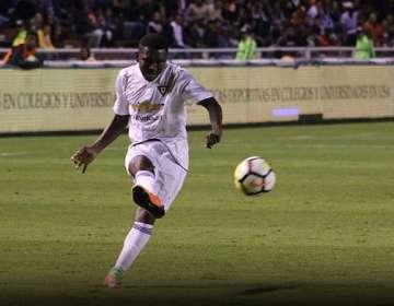 Edison Realpe, jugador de Liga de Quito. Foto: Web de Liga.