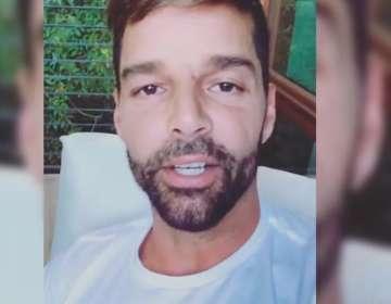 Ricky Martin revela que tiene una enfermedad. Foto: IG