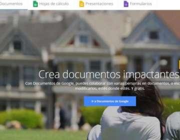 Google Docs es la alternativa de Google al tradicional office de Microsoft.