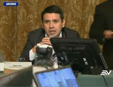 Mera conversó con Jorge Glas en torno a las acusaciones a Solis. Foto: Captura