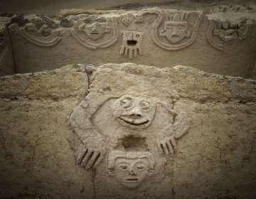 Se cree que las imágenes talladas representan la esperanza de que llegue la lluvia.