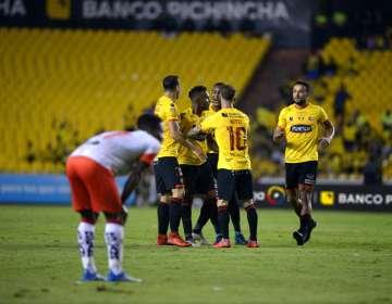 Ambos jugadores están fuera de la convocatoria para el duelo por Copa Ecuador. Foto: API