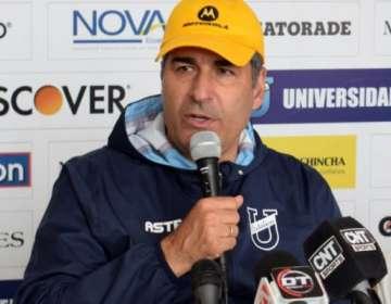Santiago Escobar, estratega de la U. Católica.