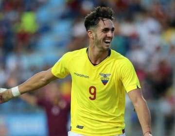 Leo Campana, delantero 'tricolor'.