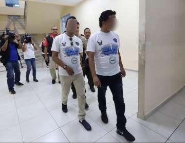GUAYAQUIL, Ecuador.- Ambos se encuentran en prisión preventiva. Foto: ECU 911