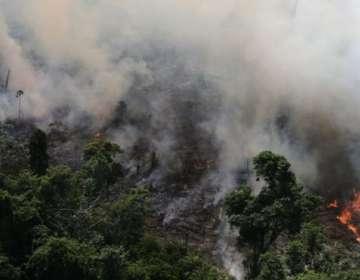 El corazón de Sudamérica se quema a un ritmo récord.