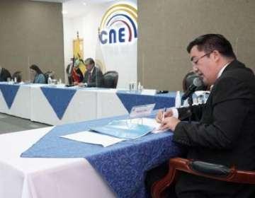 El CNE recibió la solicitud hecha por el partido Pachakutik.
