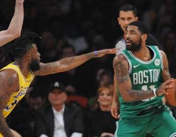 Kyrie Irving, jugador de los Boston Celtics.