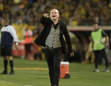 El entrenador aseguró que no se recuperaron del primer gol que les hizo Boca Juniors. Foto: Archivo/AFP