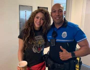 Shakira sorprende con su habilidad para el boxeo