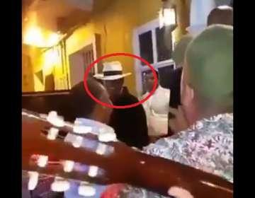 Luis Miguel recibe serenatas de sus fans en Cartagena