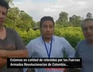 Esta grabación constituye una de las primeras pruebas de vida que envió la organización de alias Guacho.