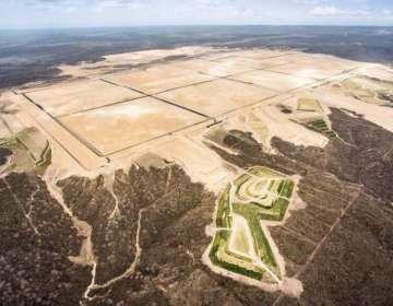 Los narcotraficantes construyeron una pista clandestina de aterrizaje en una extensión de 8 kilómetros.