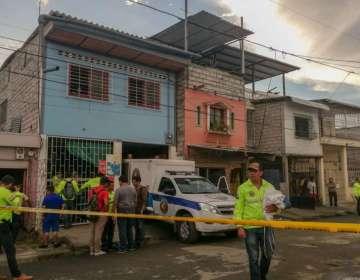GUAYAQUIL, Ecuador.- Esta clínica clandestina se incendió el viernes 11 de enero del 2019. Foto: Cortesía