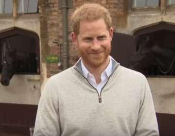 El príncipe Harry anuncia el nacimiento de su hijo