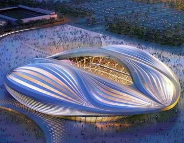 Al Wakrah, estadio del Mundial Qatar 2022.